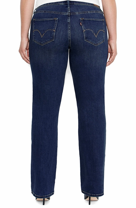 Levi's ® Women's 512 ™ Plus Size Boot Cut Jeans - Daylight with City Lights