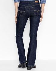 Levi's ® Women's 515 ™ Boot Cut Jean - Darkest Ace