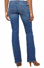 Levi's ® Women's 515 ™ Boot Cut Jeans - Clouds Rest with Lighthouse