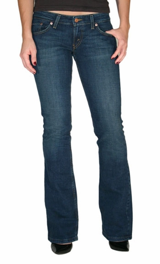 Levi's ® Junior's 524 ™ Boot Cut Jeans - Blue Rider (Closeout)
