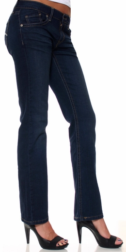 Levi's ® Women's 528 Curvy Cut Boot Jeans - Denim Belief (Discontinued)