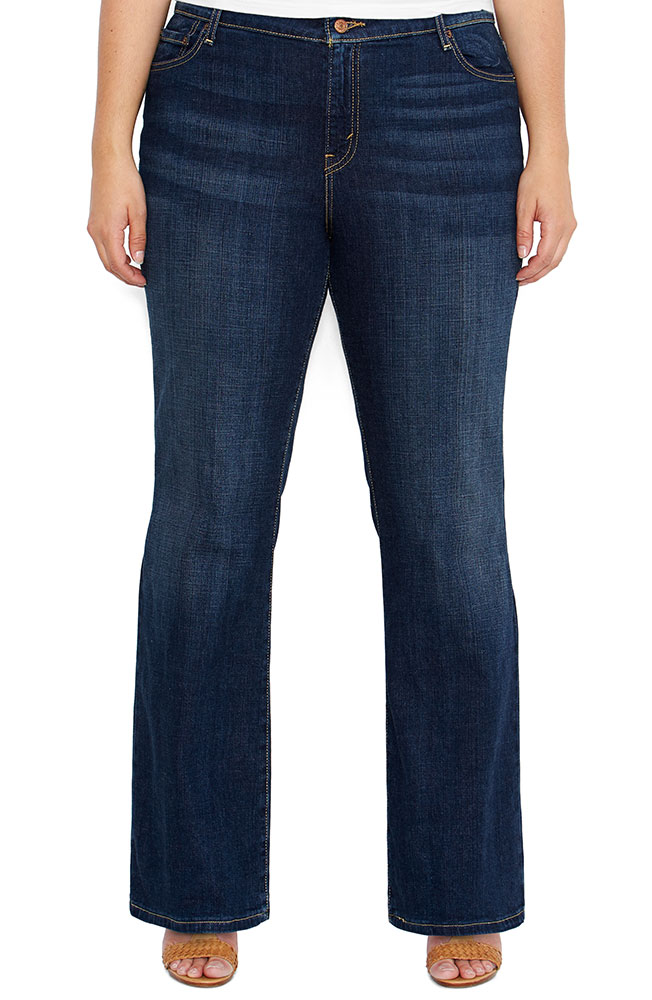 Levi's ® Women's 590 ™ Plus Boot Cut Jeans - Denim Belief (Closeout)
