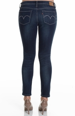 Levi's ® Womens Low Demi Curve Skinny Jean - Indigo Smoulder (Closeout)