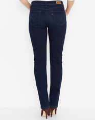 Levi's Women's 512 Perfectly Slimming Straight Leg Jeans - Abbott Indigo