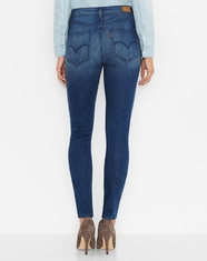 Levi's Women's Juniors High Rise Skinny Legging - Watery Dark