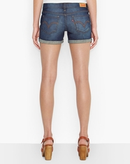 Levi's® Women's Juniors Mid Length Short - Timeless Blue (Closeout)