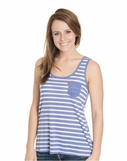 Levi's Women's Racer Back Tank Top - Periwinkle (Closeout)