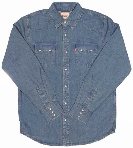 Levi's ® Men's Long Sleeve Denim Snap Work Shirt - Marley