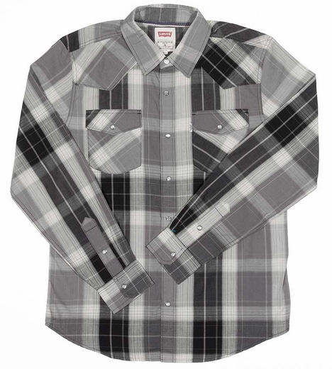 Levi's ® Long Sleeve Layton Snap Western Shirt (Closeout)