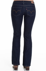 Levis® Women's 524 Too Superlow Boot Cut Jeans - Performance Blue (Discontinued)
