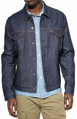 Levis's ® Mens Relaxed Trucker Jacket - Rigid (Closeout)