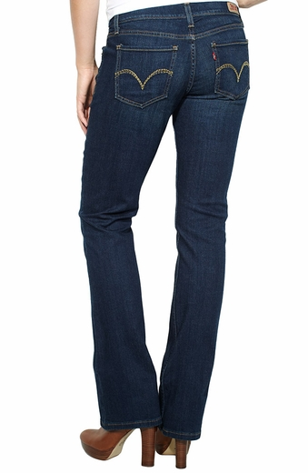 Levi's ® Junior's 524 ™ Boot Cut Jeans - Indigo Commitment