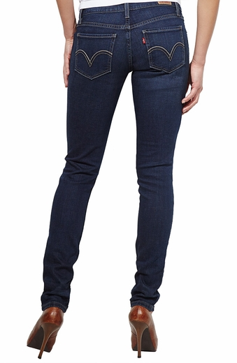 Levi's ® Junior's 524 ™ Skinny Jeans - Denim Belief (Discontinued)
