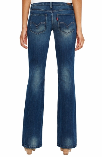 Levi's ® Junior's 524 ™ Too Superlow Boot Jean - Windy Blue (Closeout)