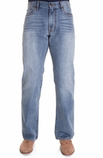Lucky Brand Mens 181 Relaxed Straight Jeans - Light Cardiff