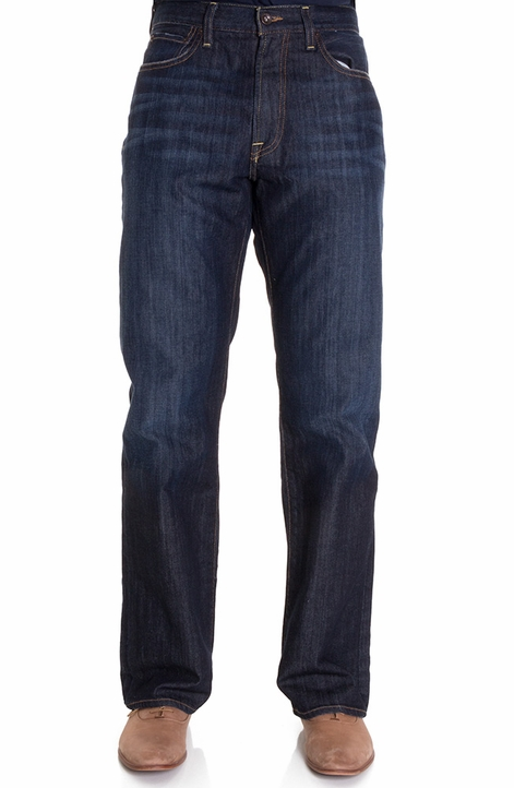 Lucky Brand Mens 181 Relaxed Straight Jeans - Ol Lipservice (Closeout)