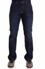 Lucky Brand Mens 221 Original Straight Jeans - Dark Olin