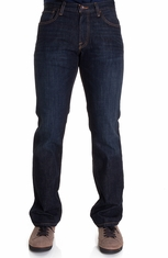 Lucky Brand Mens 221 Original Straight Jeans - Dark Olin (Closeout)