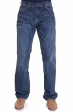 Lucky Brand Mens 221 Original Straight Jeans - Medium Temescal (Closeout)
