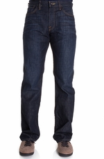 Lucky Brand Mens 361 Vintage Straight Jeans - Dark Harpeth (Closeout)