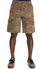 Lucky Brand Mens Cargo Shorts - Camo (Closeout)