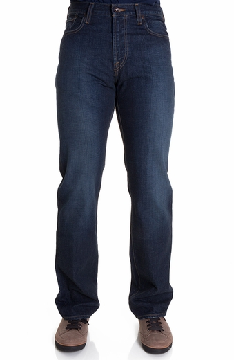 Lucky Brand Mens 181 Relaxed Straight Jeans - Old Carriage (Closeout)