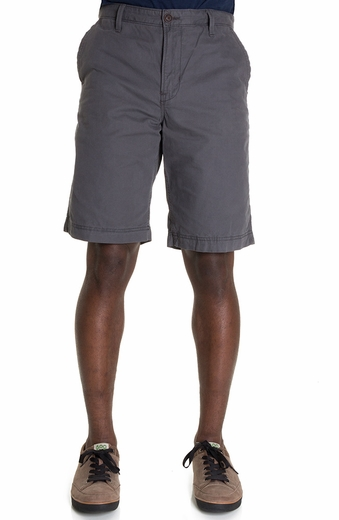 Lucky Brand Mens Flat Front Shorts - Pebble (Closeout)