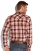 Lucky Brand Mens Ambassador Western Shirt - Orange (Closeout)