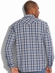 Lucky Brand Mens Powder Line Western Shirt - Navy (Closeout)