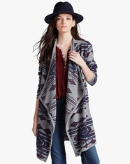 Lucky Brand Women's Aztec Wrap - Multi (Closeout)