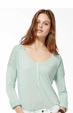 Lucky Brand Women's Carla Lace Top - 2 Colors (Closeout)