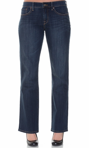 Lucky Brand Women's Easy Rider Jeans - Dark Goldmine