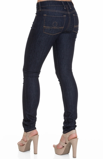 Lucky Brand Womens Sofia Skinny Jeans - Resin Rinse (Closeout)