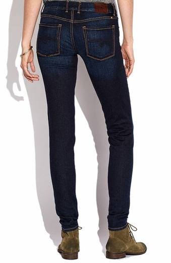 Lucky Brand Womens Lolita Skinny Jeans - Grissom (Closeout)