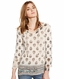 Lucky Brand Womens Paisley Bell Sleeve Top (Closeout)