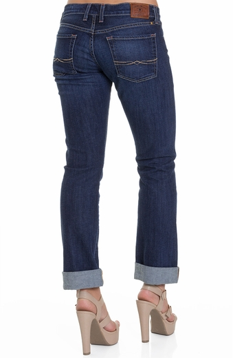 Lucky Brand Womens Sienna Tomboy Jeans - Medium Westborne (Closeout)