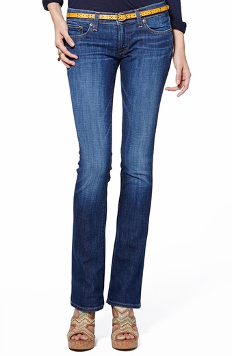 Lucky Womens Charlie Baby Boot Cut Jeans - Medium Salvage (Closeout)