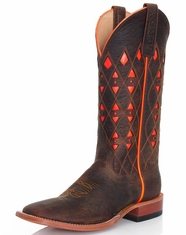 Men's Horse Power Square Toe Boots - Toasted Bison (Closeout)