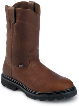 Men's Justin Original Workboots - 10