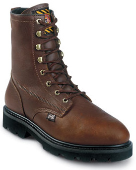 Men's Justin Original Workboots - 8