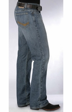 Men's Southern Thread Stillwater Jeans - Medium Stonewash (Closeout)