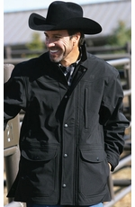 Miller Ranch Men's Fleece Lined Jacket - Black