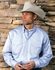 Miller Ranch Men's LS Button Down Western Dress Shirt - Blue