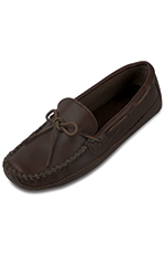 Minnetonka Men's Double Bottom Cowhide Driving Moc