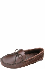 Minnetonka Moccasins- Men's Double Bottom Cowhide Driving Moc