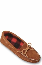 Minnetonka Moccasins - Men's Double Bottom Fleece Lined Slipper