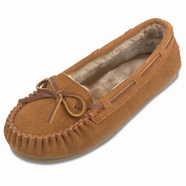 Minnetonka Women's Cally Suede Slipper - 4 Colors (Closeout)