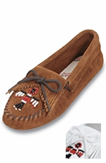 Minnetonka Women's Thunderbird Beaded Moccasin - 2 Colors
