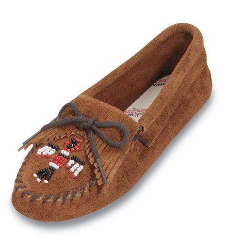 Minnetonka Women's Thunderbird Beaded Moccasin