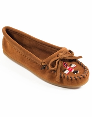 Minnetonka Women's Thunderbird II Moccasins - Brown